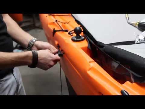 Fishing Boat: For Free Diy kayak rudder system