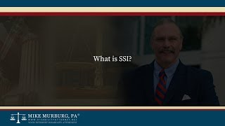 Video thumbnail: What is SSI?