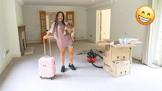 WE'RE MOVING INTO OUR DREAM HOUSE!! **HOUSE TOUR UPDATE**