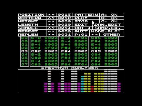 Yerzmyey - Berlin School Electronic Music on ZX Spectrum (a test)