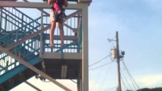 Caroline does free fall