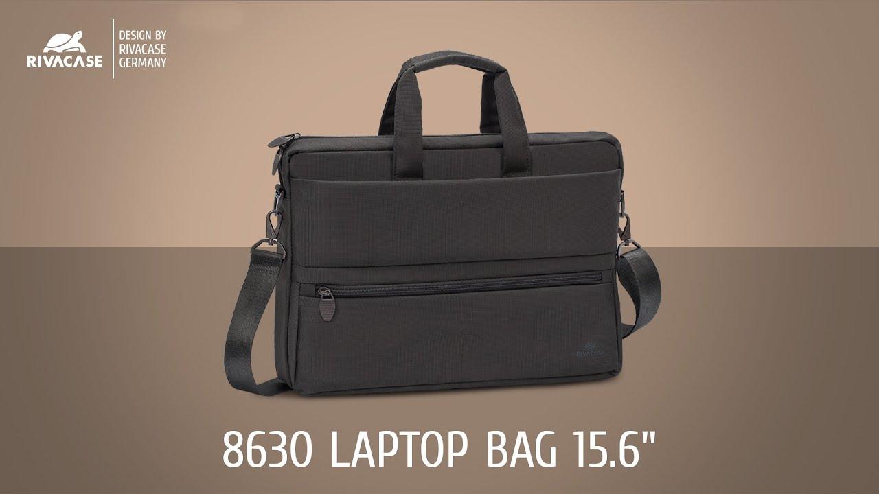 """Сумка RivaCase для ноутбука 15,6"""" (Black) 8630BL video preview"""