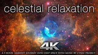 """""""Celestial Relaxation"""" 1 HR of 4K NASA Space/Galaxy Footage + 432HZ Ambient Music"""