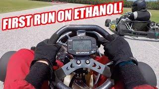 6th Gear Shifter Karting! Small Crash and ETHANOL!