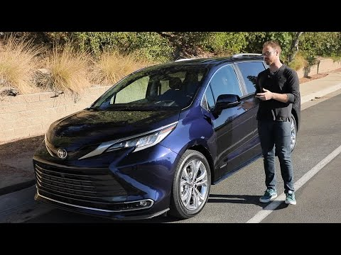 2021 Toyota Sienna Test Drive Video Review