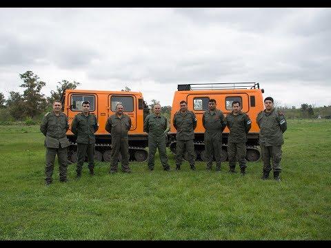 Gendarmería argentina restaura un Bandvagn 206