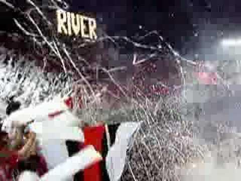 """""""Recibimiento de river contra cienciano"""" Barra: Los Borrachos del Tablón • Club: River Plate • País: Argentina"""