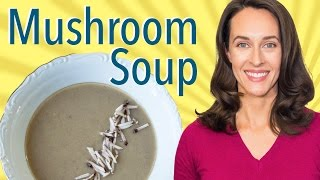 Dried And Fresh Mushroom Soup By Jacques Pépin: Recipe Demo - How To Make Mushroom Soup