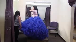 ¿Cómo ponerte tu vestido de Quinceañera?