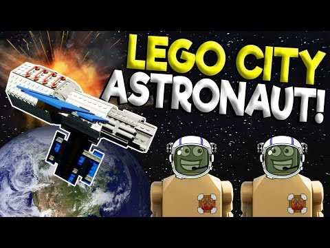 GETTING A JOB AT LEGO NASA! – Brick Rigs Roleplay Gameplay – Lego City Job Space Station Simulator