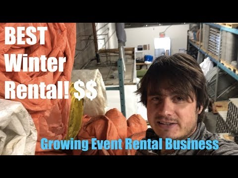 My Secret Winter Money Making Item - Growing My Event Rental Business