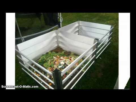 Metall Komposter aus Aluminium - www.haus-gartenwelt.com