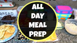 MASSIVE MEAL PREP | LARGE FAMILY MEAL PREP