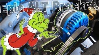 Easy Alternator Bracket