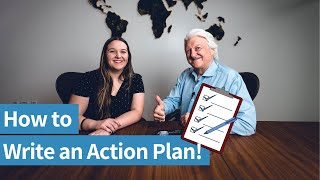 Action Plan Example & How to Write a Tactical Plan    The Business Startup Series Episode 5