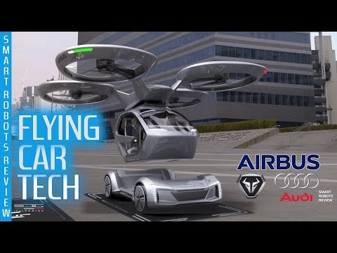 Flying Cars Tech By ITALDESIGN Audi And Airbus - Pop Up Next - Smart Robots Review