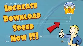 How To Increase Download Speed On PS4 In 2021 - (10X Faster!)