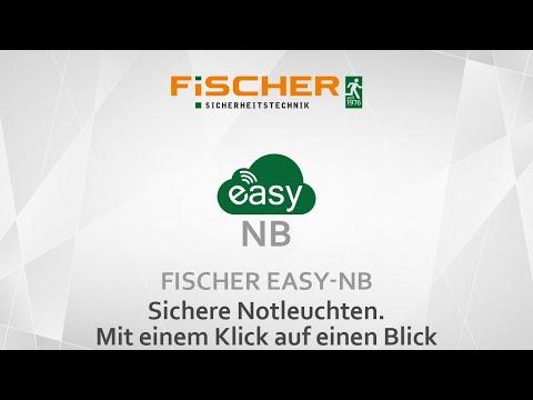 FiSCHER easy-NB - Leuchten mit Einzelbatterie im IoT