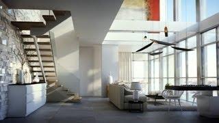 Luxurious duplex apartment in Jerusalim 3D Visualisation HD