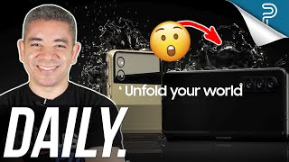 Galaxy Z Fold 3 Going WATER RESISTANT! iPhone 13 Crazy Orders & more!