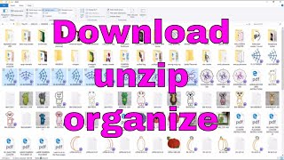 Embroidery Tech: How To Download, Unzip And Organize Embroidery Files!