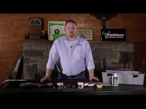 Traditions Firearms - How to Clean Your Traditions Break Action Muzzleloader