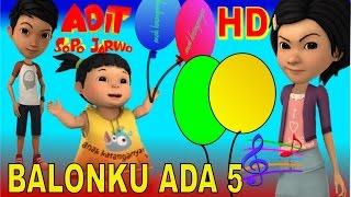 Gambar cover Adit Sopo Jarwo ✰ Balonku Ada 5 ✰ Lagu Anak Indonesia Populer Sepanjang Masa