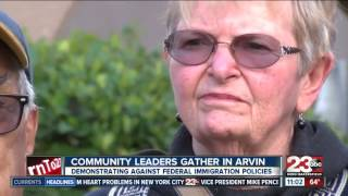 Arvin community leaders protest recent policies