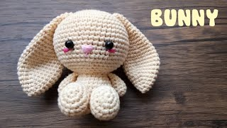 BUNNY | HOW TO CROCHET | AMIGURUMI TUTORIAL