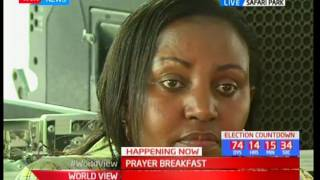 NATIONAL PRAYER BREAKFAST - 25th May 2017 - Chief Guest preaches about Love for one another