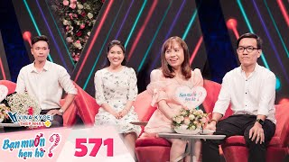 Wanna Date   Ep 571: Beautiful nurse liking playing with darts makes banker scared