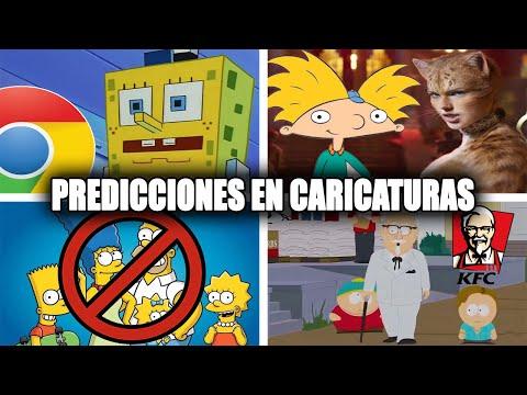 10 Predicciones Hechas por Caricaturas que No son Los Simpson