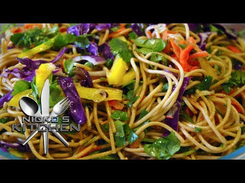 ASIAN NOODLE SALAD – VIDEO RECIPE