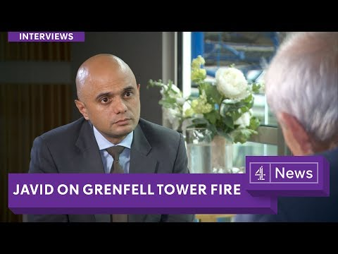 Grenfell Tower fire: Communities Minister Sajid Javid says 'something went massively wrong'