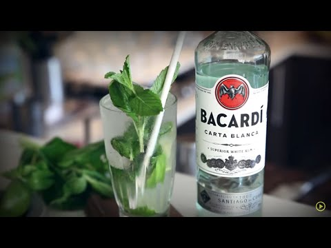Video Mojito | How to Mix | Bacardi Rum | Drinks Network