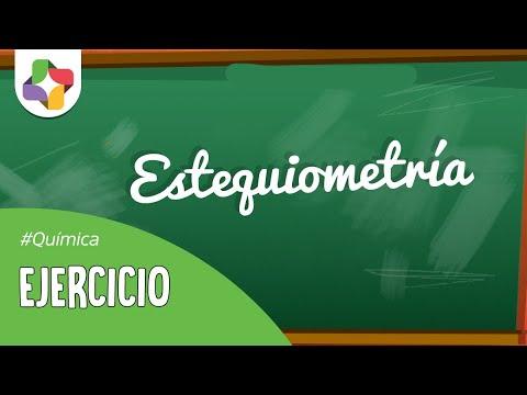 Educatina - Ejercicio Modelo de Estequiometría