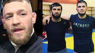 ОТЕЦ ХАБИБА :НАЧИНАЕМ ГОТОВИТЬСЯ ПОД КОНОРА МАКГРЕГОРА ! БОЙ ХАБИБА И КОНОРА НА UFC 229 !