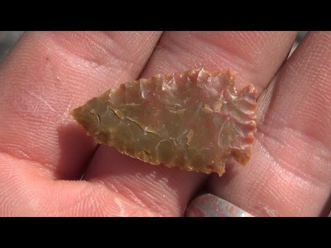 Download Flintknapping a Jasper Arrowhead With Master Knapper Dr Joe Higgins at Fort Knapadonia 2016 HD Mp4 3GP Video and MP3