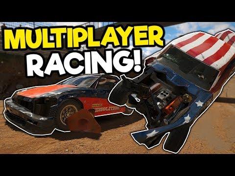 We Caused Mayhem and Destruction in Multiplayer! - Wreckfest Multiplayer Gameplay