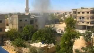Incoming Mortar Fire   Syrian War 2015