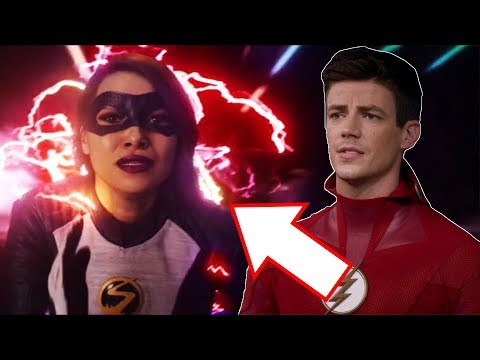 Nora Gets Red Lightning? New Time Travel Mystery?! - The Flash 5x21 Promo