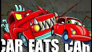 развивающие мультики для детей  мультик игра машина ест машину серия 1 - мультфильм про машинку