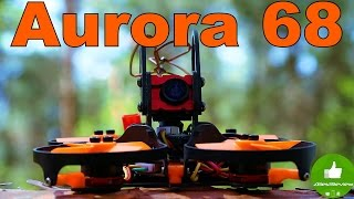✔ FPV Квадрокоптер Eachine Aurora 68. Полеты и Вывод! Banggood