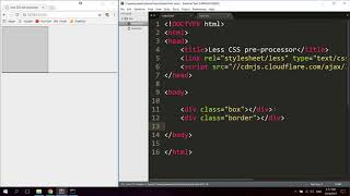 Less CSS Pre-processor Introduction Tutorial For Beginners
