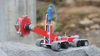 How to make a bucket wheel excavator || Hydraulic bucket wheel