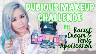 Dubious Makeup Challenge + Racist Cream + Penis Applicator