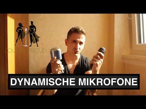 Wie funktioniert eigentlich ein dynamisches Mikrofon?