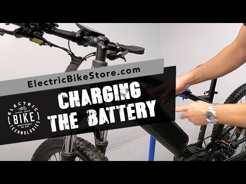 Electric Bike Technologies | All About Charging The Battery