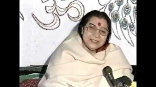 Eve of Makar Sankranti Puja, Evening Program and Talk to Sahaja Yogis, I know everything thumbnail