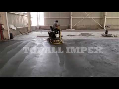 Qum 96- Hydraulic Ride On Power Trowel